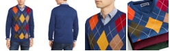 Club Room Men's Argyle Merino Wool Blend Sweater, Created for Macy's
