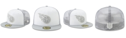 New Era Tennessee Titans White Cloud Meshback 59FIFTY Cap