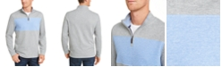 Club Room Men's Quarter-Zip French Rib Pullover, Created for Macy's