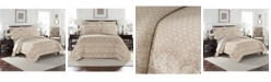 Williamsburg Basset Matelasse King Coverlet