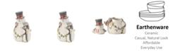 Fitz and Floyd Fitz & Floyd Mistletoe Merriment Cookie Jar