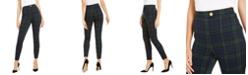 INC International Concepts I.N.C. Plaid Skinny Pants, Created For Macy's