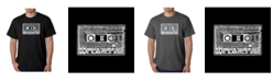LA Pop Art Men's Word Art T-Shirt - The 80's