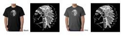 LA Pop Art Men's Word Art T-Shirt
