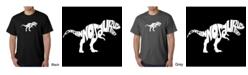 LA Pop Art Men's Word Art T-Shirt - Tyrannosaurus Rex