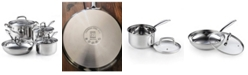 Cook N Home 02606, 8-Piece Stainless Steel Cookware Set