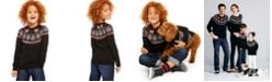 Charter Club Little Boys Fair Isle Family Sweater, Created For Macy's