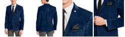Nick Graham Men's Slim-Fit Velvet Sport Coat