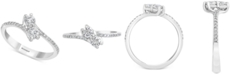 EFFY Collection EFFY® Diamond By-Pass Ring (1/2 ct. t.w.) in 14k White Gold