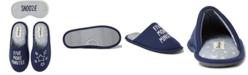 Dearfoams Women's Faux-Fur Scuff Slippers & Eye Mask, Online Only