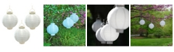 JH Specialties Inc/Lumabase Lumabase Solar Powered Nylon Lanterns, Set of 3