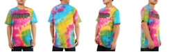 Hudson NYC Men's Tie Dye Drip Graphic T-Shirt