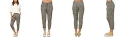 O'Neill Juniors' Woodson Cropped Plaid Pants
