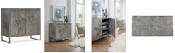 Hooker Furniture Two-Door Grey Cabinet