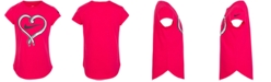 Nike Little Girls Cotton Shoelace Heart T-Shirt