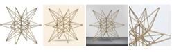 Crystal Art Gallery American Art Decor Table Top Star Figurine Sculpture Home Decor Accessory