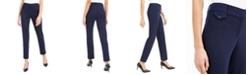 Alfani Petite Slim Fit Coin Pocket Pants, Created For Macy's