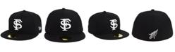 New Era Florida State Seminoles Core Black White 59FIFTY Fitted Cap