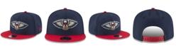 New Era Boys' New Orleans Pelicans Basic 9FIFTY Snapback Cap