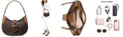 Michael Kors Lillian Signature Logo Shoulder Bag