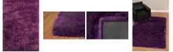 "Asbury Looms Bliss Nubia 2300 00117 33 Purple 2'7"" x 3'11"" Area Rug"