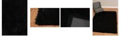 "Asbury Looms Bliss Catalina 2300 00121 58 Black 5'3"" x 7'2"" Area Rug"
