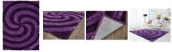 """Asbury Looms Finesse Pinnacle 2100 21783 24 Purple 1'10"""" x 3' Area Rug"""
