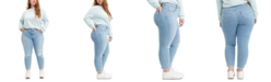 Levi's Trendy Plus Size 711 Destructed Skinny Ankle Jeans