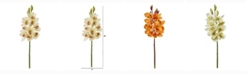 Nearly Natural 20in. Cymbidium Orchid Artificial Flower Set of 4