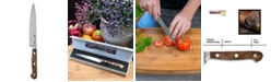 "Carl Schmidt Sohn TESSIN German 6"" Carving Knife with Walnut Handle"