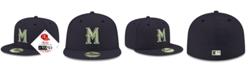 New Era Milwaukee Brewers Retro Classic 59FIFTY Cap