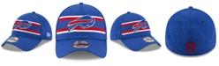 New Era Buffalo Bills Striped Front Tech 39THIRTY Stretch Fitted Cap
