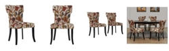 Handy Living Sterling Upholstered Dining Chair Set