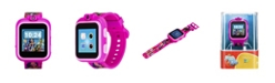 iTouch Kids PlayZoom DC Comics Superhero Girls Strap Touchscreen Smart Watch 42x52mm