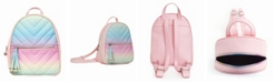 OMG! Accessories Toddler, Little and Big Kids Ombre Chevron Dome Mini Backpack