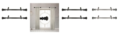 "Rod Desyne Chance 1"" Side Curtain Rod 12-20"" (Set of 2)"