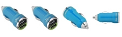 Insten 2.1A Dual USB Mini Car Charger Adapter