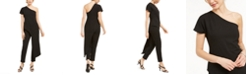 Adrianna Papell One-Shoulder Asymmetrical Jumpsuit