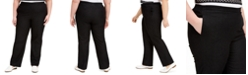 Alfred Dunner Plus Size Checkmate Pull-On Pants