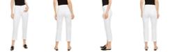 Eileen Fisher High-Rise Straight-Leg Jeans, Regular & Petite Sizes, Created for Macy's