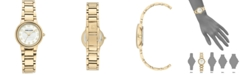 Anne Klein Women's Gold-Tone Bracelet Watch 28mm
