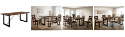 Furniture of America Humboldt Solid Wood Dining Table