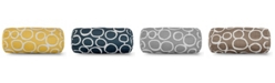 """Majestic Home Goods Fusion Decorative Round Bolster Pillow 18.5"""" x 8"""""""