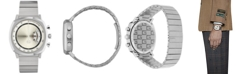 Gucci Men's Swiss Chronograph Grip Stainless Steel Bracelet Watch 40mm