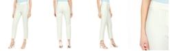Nine West Pinstriped Slim-Leg Ankle Pants