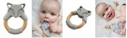 Tiny Teethers Designs Tiny Teether Baby Designs Silicone and Beech Teether