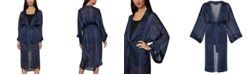 BCBGMAXAZRIA Snake-Embossed Kimono