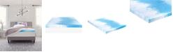 "Comfort Revolution 4"" Gel-Infused Memory Foam Mattress Topper, King"