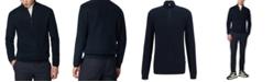 Hugo Boss BOSS Men's Icarlo Dark Blue Sweater
