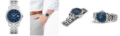 Hamilton Men's Swiss Automatic Jazzmaster Viewmatic Stainless Steel Bracelet Watch 40mm